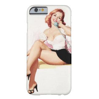 電話のレトロのピンナップ BARELY THERE iPhone 6 ケース