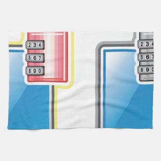 電話ロック タオル