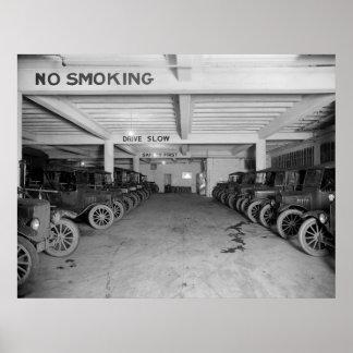 電話会社のトラック: 1925年 ポスター