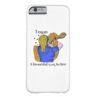 電話住むビーガンAの美しい方法箱 BARELY THERE iPhone 6 ケース