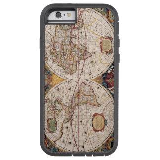 電話場合古い地図 TOUGH XTREME iPhone 6 ケース