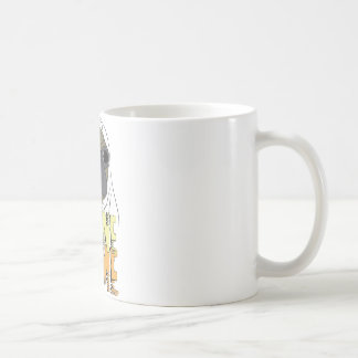 電話家のマグ コーヒーマグカップ
