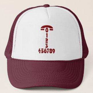電話番号-帽子 キャップ