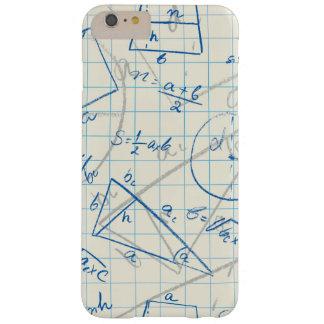 電話箱のための数学パターンデザイン BARELY THERE iPhone 6 PLUS ケース