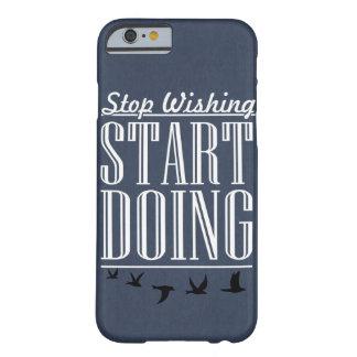 電話箱をする開始を望むことを止めて下さい BARELY THERE iPhone 6 ケース