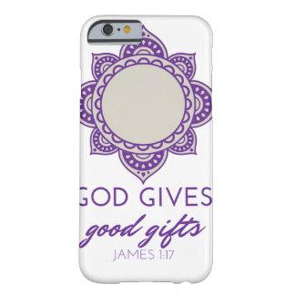 電話箱-神はよいギフトを与えます! BARELY THERE iPhone 6 ケース