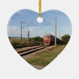 電車 セラミックオーナメント