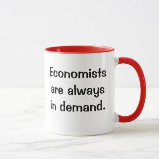 需要がある経済学者。 機知に富んだ経済学の引用文のスローガン マグカップ