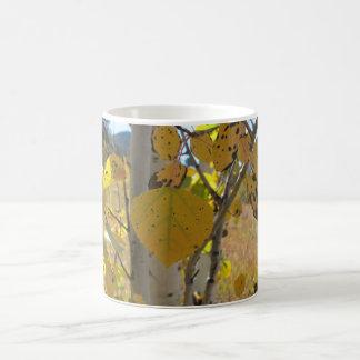 震動《植物》アスペンの葉 コーヒーマグカップ