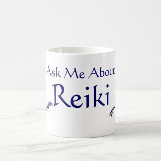 霊気について私に尋ねて下さい コーヒーマグカップ