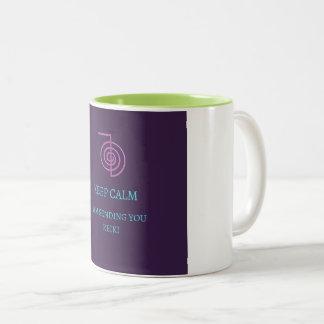 霊気のマグ ツートーンマグカップ