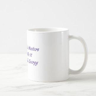 霊気のマスターはエネルギーとのそれをします コーヒーマグカップ