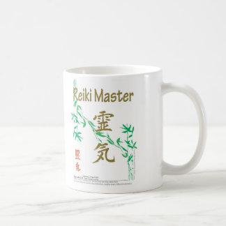 霊気のマスター コーヒーマグカップ