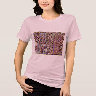 霊気のヴィンテージの芸術 Tシャツ