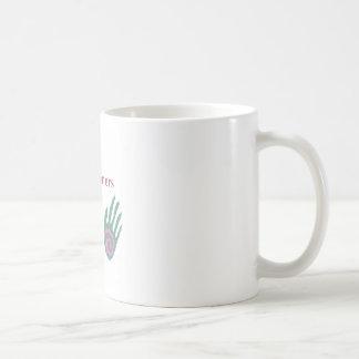 霊気の従業者に治療手があります コーヒーマグカップ