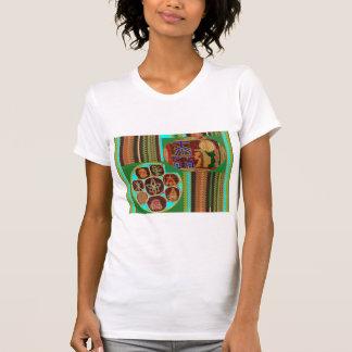 霊気のKarunaの治療の記号のチャクラの宇宙トンネル Tシャツ