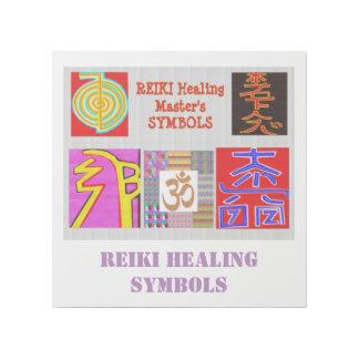 霊気は治療の詠唱のヒンズー教の記号のおもしろいを習得します ギャラリーラップ
