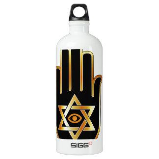 霊魂または占い師のためのグラフィック ウォーターボトル