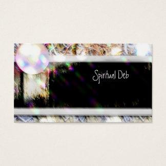 霊魂、精神的な、クリスタル・ボール、名刺 名刺