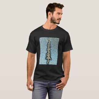 霜の降りたな木 Tシャツ