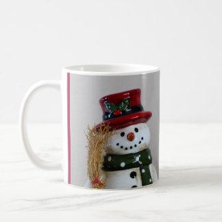 霜の降りた雪の人のマグ00503 コーヒーマグカップ