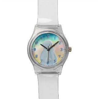 霜の降りた 腕時計