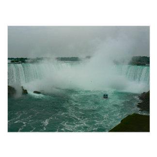 霧および蹄鉄の滝の女中 ポストカード