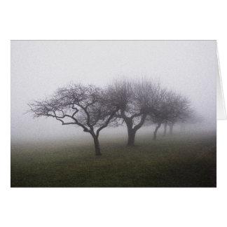 霧に カード