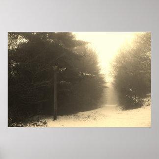 霧のあなたの方法を見つけて下さい ポスター