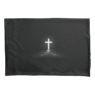 霧のキリスト教の十字 枕カバー