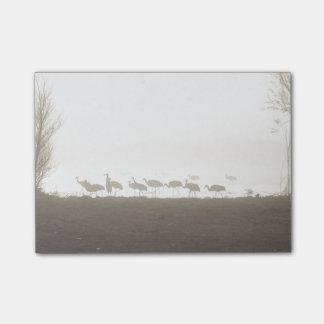 霧のクレーン ポストイット