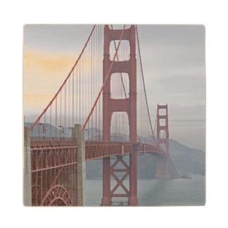 霧のゴールデンゲートブリッジ ウッドコースター