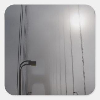 霧のゴールデンゲート スクエアシール