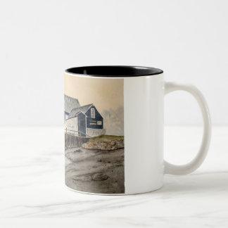 霧のマグを通して ツートーンマグカップ
