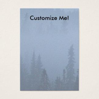 霧のマツ 名刺