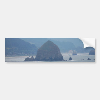 霧の大砲のビーチの三角波 バンパーステッカー