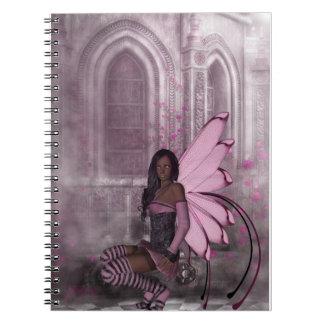 霧の妖精の国のファンタジーのノートへのKRW ノートブック