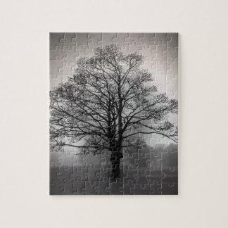 霧の木 ジグソーパズル