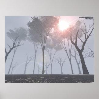 霧の死ぬ森林 ポスター