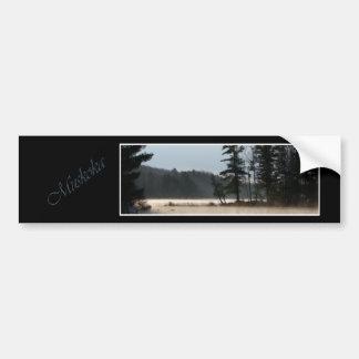 霧の湖 バンパーステッカー