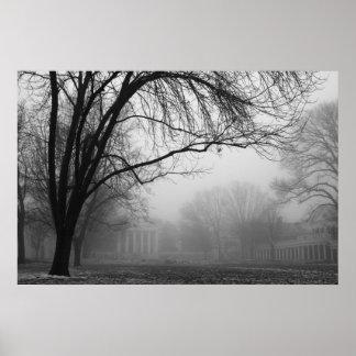 霧の芝生 ポスター