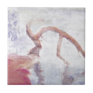 霧の芸術の木 タイル
