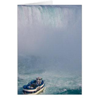 霧の虹ナイアガラ・フォールズ、カナダの女中 カード