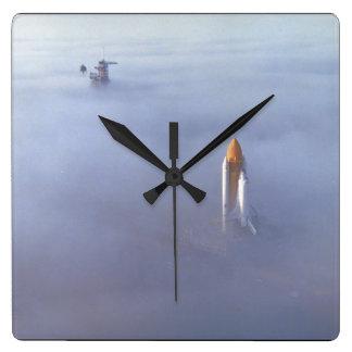 霧の。_Spaceのシャトル スクエア壁時計