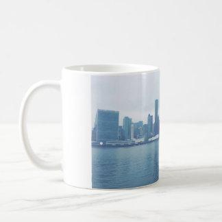 霧深いスカイライン コーヒーマグカップ