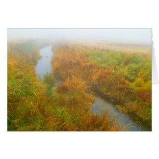 霧深い入り江 カード