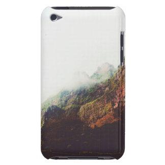 霧深い山、リラックスさせるな自然の景色場面 Case-Mate iPod TOUCH ケース