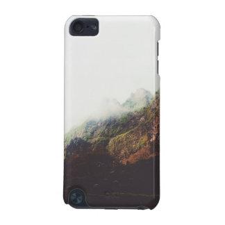 霧深い山、リラックスさせるな自然の景色場面 iPod TOUCH 5G ケース