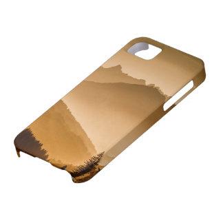 霧深い山 iPhone SE/5/5s ケース