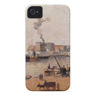 霧深い朝、カミーユ・ピサロ著ルーアン Case-Mate iPhone 4 ケース